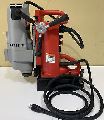 Milwaukee 4203 Electromagnetic Drill Press With 4292-1 Drill Motor 1-1432mm