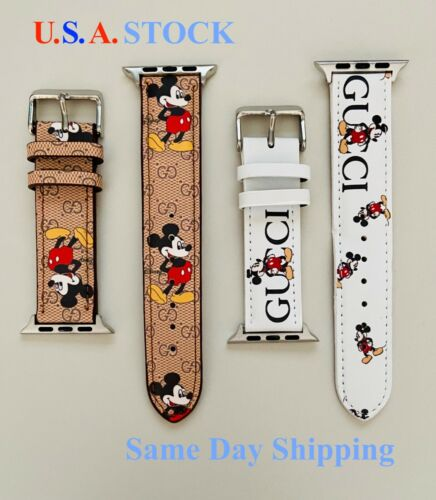 Apple Watch Band Genuine Leather Strap For Series 6 5 4 3 2 1 38/40mm, 42/44mm
