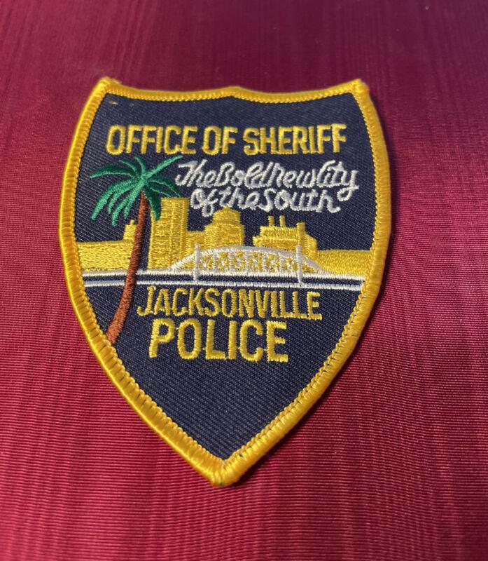 "New Jacksonville (FL) Florida Sheriff's Police ""Office of Sheriff"" Blk Patch JSO"
