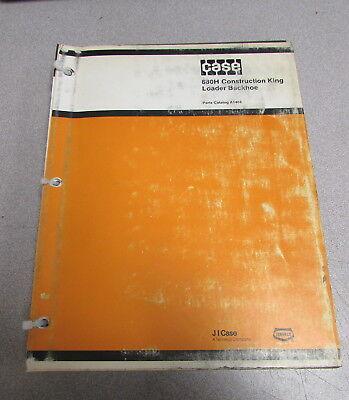 Case 680h Construction King Loader Backhoe Parts Catalog Manual A1404 1982