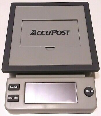 Rare - Accupost - Very Presice - Usps Desktop Postal Scale 5 Lbs 4911