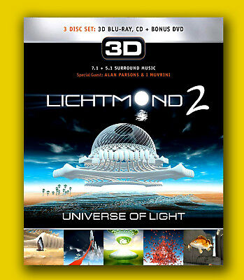 LICHTMOND 2 Universe of Light 3D Special Edition + DVD + CD PAPPSCHUBER Digipack - Dvd 3 Pack Light