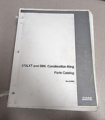 Case 570lxt 580l Construction King Parts Catalog Manual Bur 8-9942 1997