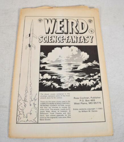 """Weird Science Fantasy Classic EC Comics 10 x 15"""" Cover Print 11 Reprints"""