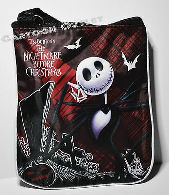 DISNEY NIGHTMARE BEFORE CHRISTMAS PURSE BAG CROSSBODY SHOULDER TOTE NBC JACK NWT
