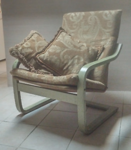 Custom-finished Accent Chair