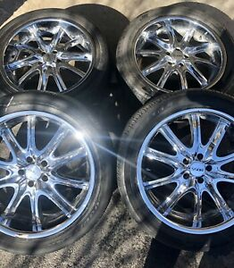 "20"" x 8.5 Chrome Wheels / Rims"