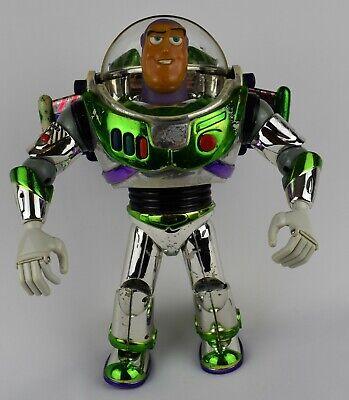 Toy Story Talking Buzz Lightyear in Chrome Effect
