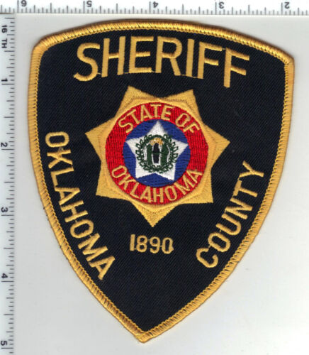 Oklahoma County Sheriff (Oklahoma) Shoulder Patch - new