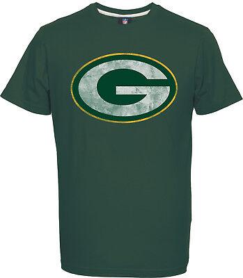 NFL Football GREEN BAY PACKERS T-Shirt Tee Domestic Hyper Logo grün