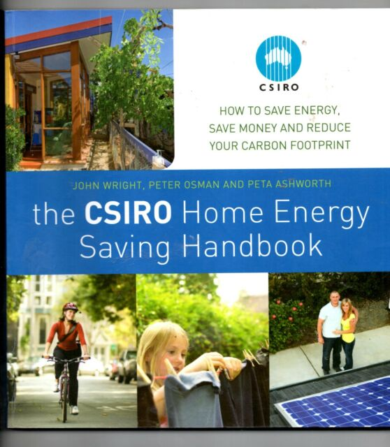 The CSIRO Home Energy Saving Handbook,save energy,save money reduce carbon print