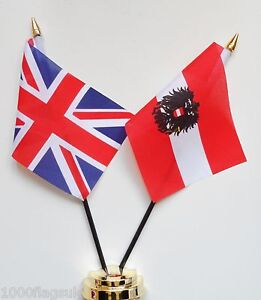 United-Kingdom-Austria-State-Double-Friendship-Table-Flag-Set
