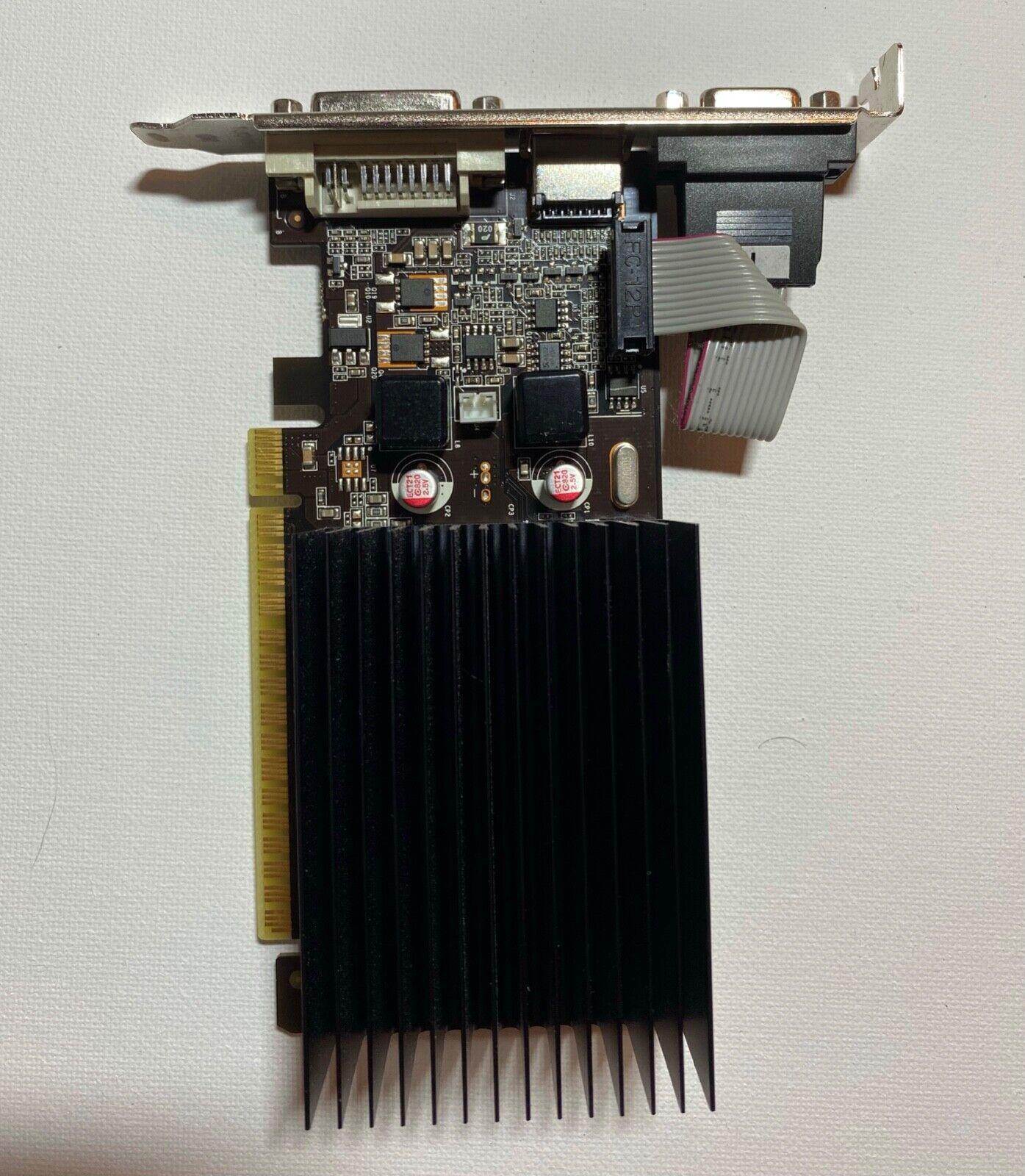 Palit GeForce 210 gf210 1gb ddr3 PCI-E DVI HDMI Grafikkarte