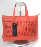 Borsa Donna Renato Balestra In Ecopelle Saffiano Color Corallo Arancione-  - ebay.it