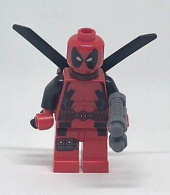 LEGO DEADPOOL MINIFIG figure minifigure 6866 marvel hero dead pool