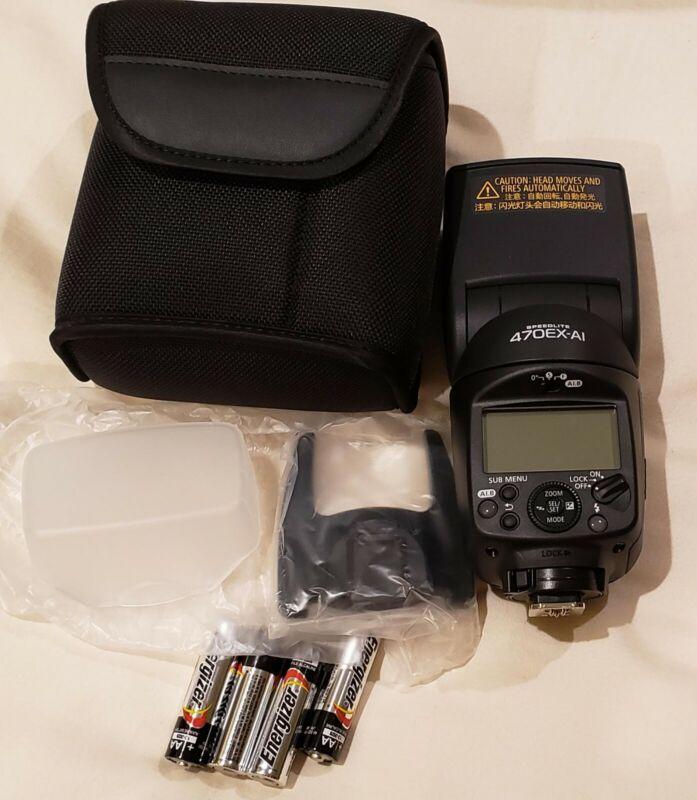 Canon Speedlite 470EX-AI MINT CONDITION