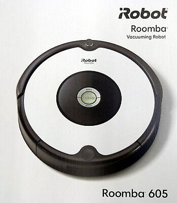 iRobot Roomba 605 Saugroboter, Staubsauger, Robotersauger, robot vacuum cleaner