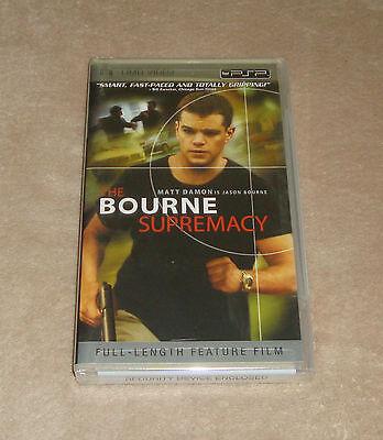 The Bourne Supremacy (UMD, 2005) new sealed PSP Movie