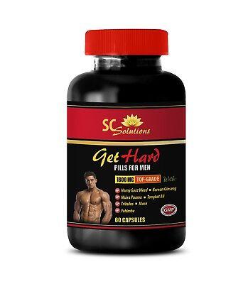 (GET HARD PILLS 1B - Testosterone booster labido - muira puama root -male enhance)