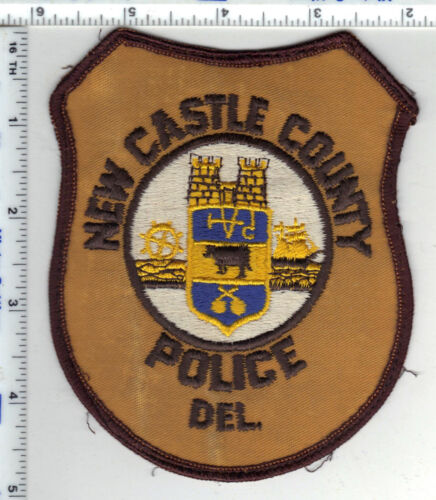 New Castle County Police (Delaware) 2nd Issue Uniform Take-Off Shoulder Patch
