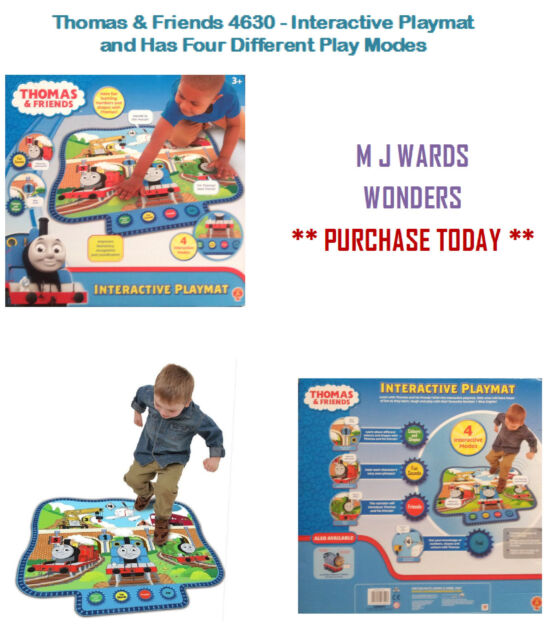 Thomas & Friends 4630 - Interactive Playmat and Has Four Different Play Modes