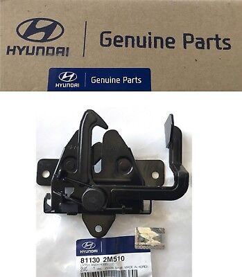 - 2013-14-15-16-17 Genesis Coupe 3.8L Hood Latch OEM Hyundai Hood Lock