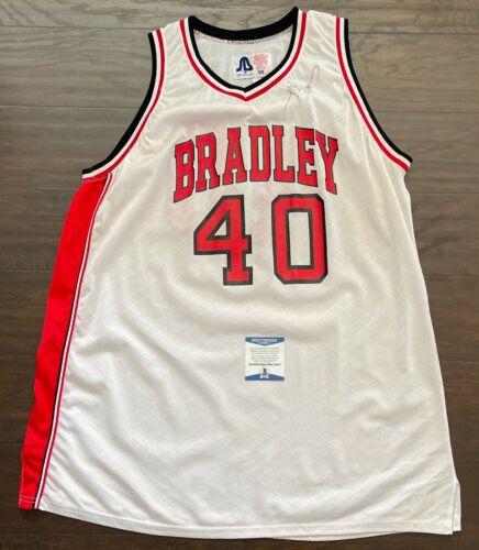 TOBY KEITH & JOE NICHOLS Signed 1993 BRADLEY BRAVES Game Used Basketball JERSEY