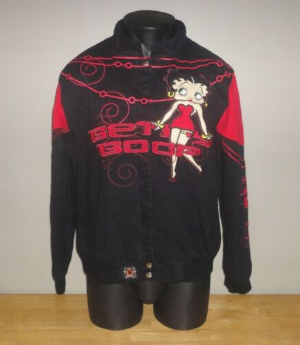 BETTY BOOP DIVA XOXO Button Up JH DESIGN Jacket -- Read For Size