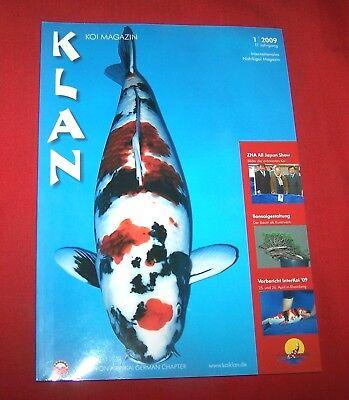 Klan Koi Magazin 2009 Nr  1 , 17. Jahrgang , Internationales Nishikigoi Magazin