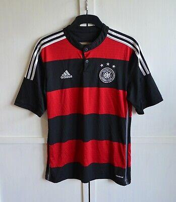 GERMANY NATIONAL TEAM 2014/2015 #6 HOME FOOTBALL SHIRT JERSEY TRIKOT ADIDAS Sz M image