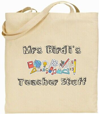 Tote Bag - Teachers Gift - Personalised Teachers Stuff - Teachers Stuff