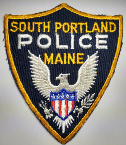 South Portland Maine Police Patch // FREE US SHIPPING!