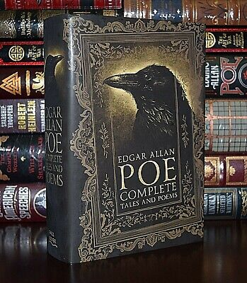 Complete Tales & Poems by Edgar Allan Poe Raven New Collectible Hardcover Gift