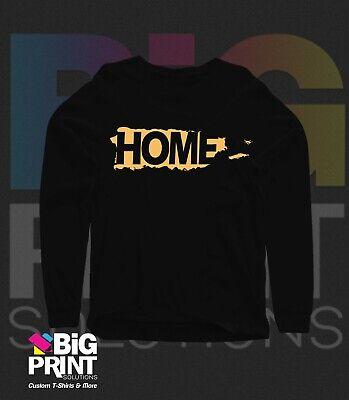 T-Shirt Long Sleeve: Puerto Rico Home Gold - Long Sleeve Home Shirt