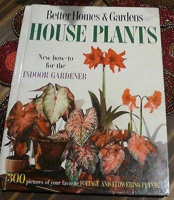 Better Homes & Gardens House Plants For The Indoor Gardener 1959