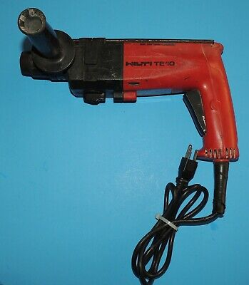 Hilti Te10 Electric Corded Rotary Hammer Drill Drill Only Parts Repair As Is