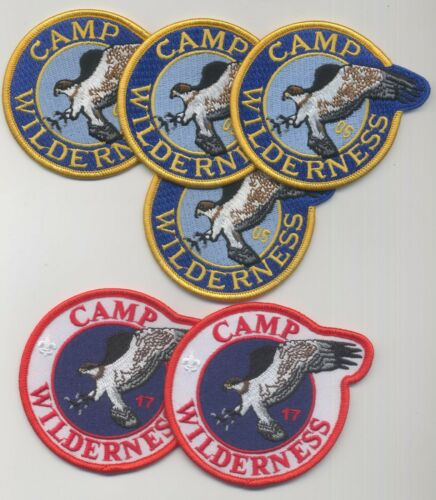 Boy Scout Camp Wilderness Northern Lights Council lot of 6 all mint