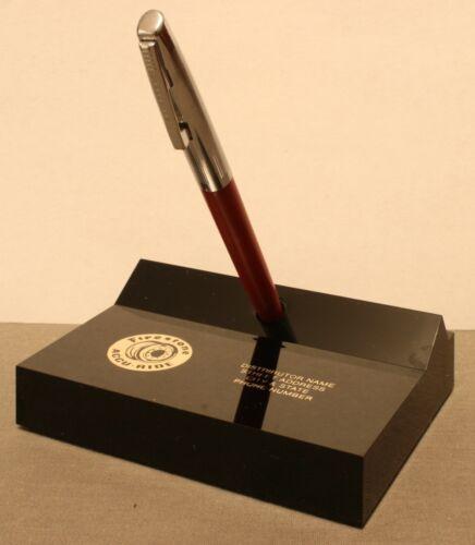 Rare Vintage Firestone Accu-Ride Pen Holder By Sheaffer, Pre-Production Sample