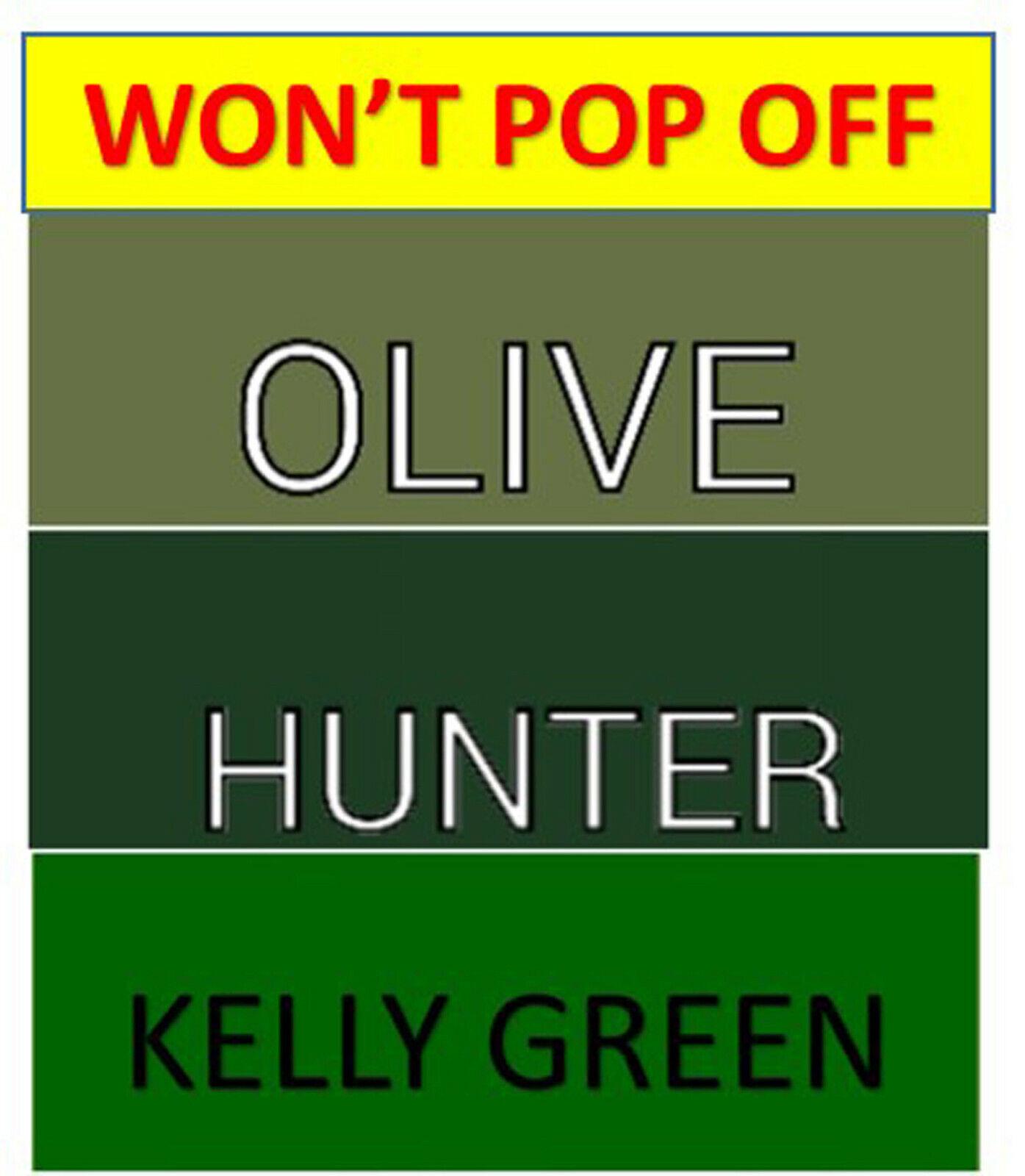Won't Pop Off Fitted Sheet Split King Hunter Green Olive Spl