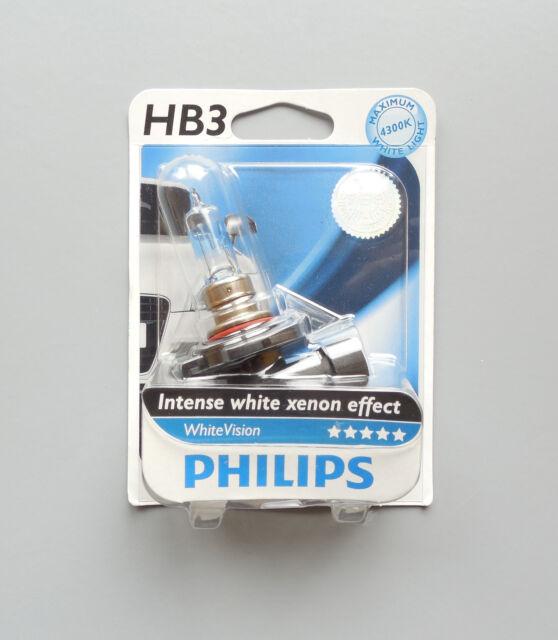 PHILIPS INTENSIVE WEIß XENON-EFFEKT 4300K GLÜHBIRNE 9005WHVB1 HB3 65W