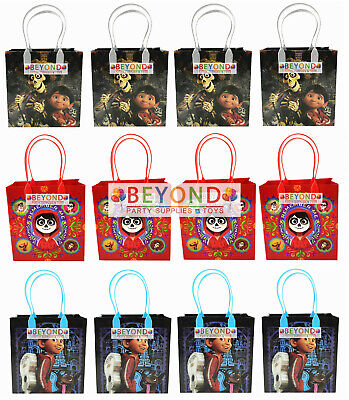Disney Coco Miguel Party Favor Goodie Bags Gift Candy Loot Goody Bags Birthday