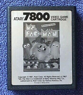 Atari 7800 - Ms. Pac-Man - game cartridge only - tested, working