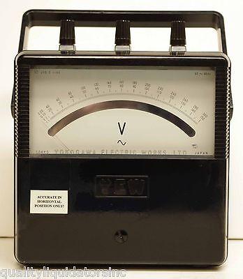 Yokogawa Dc Voltmeter 2013-27 Nice