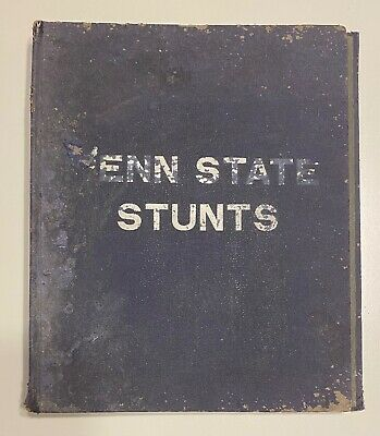 1912-1913 Penn State Scrapbook 74 Photos of Campus Buildings, State College HS