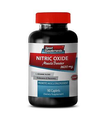L-arginine supplement - NITRIC OXIDE 3600MG - improve blood flow 1B for sale  Newtown