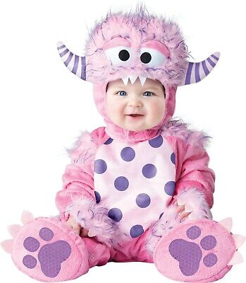 Infant Baby Lil Pink Monster Costume ](Baby Monster Costumes)