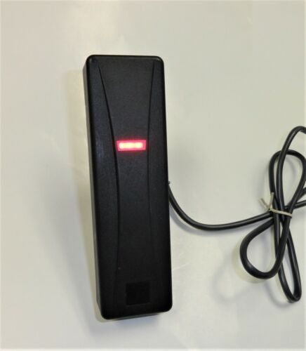 GE UTC Interlogix T-500SW Prox Card Reader, Black, Mullion Mount