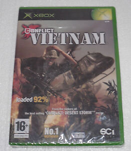 ORIGINAL XBOX GAME   CONFLICT VIETNAM   **NEW & SEALED**