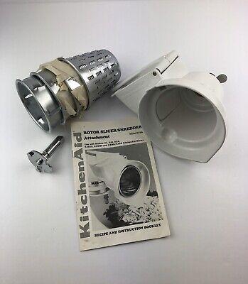 Kitchenaid RVSA Rotor Slicer & Shredder Cones Stand Mixer Attachment Set