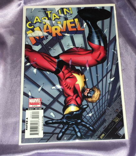 CAPTAIN MARVEL #3~LIMITED SERIES~HTF~LOW PRINT RUN~NM